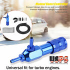 1-30psi Car Adjustable Turbo Charger Closed Loop Manual Boost Controller Blue Us