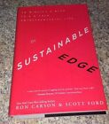 SIGNED The Sustainable Edge  15 Minutes a Week to a Richer Entrepreneurial Life