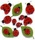 CUTE LADY BUGS Insect Jolees Boutique Epoxy Scrapbook Craft Sticker