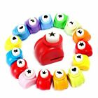 Loveinusa 10Pcs Paper Punch Scrapbooking Punches Handmade Hole Puncher