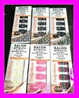 SALE Sally Hansen Salon Effects NAIL STICKERS 18 Tabs Strips Color Design NEW