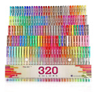 320 Colors Gel Pens Pen Set for Adult Coloring Books Writing Drawing Painting