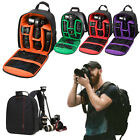 Waterproof Digital Camera Sling Backpack Shoulder Bag for Canon Nikon Sony DSLR