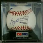 HOF Gaylord Perry Autographed Baseball PSA Graded 10! High Grade!