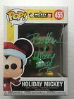 BRET IWAN Signed MICKEY MOUSE Funko Pop Vinyl Figure HOLIDAY Exact Proof Coa