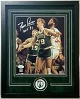 Dave Cowens Autographed Signed 8x10 Boston Celtics Framed 11x14 JSA