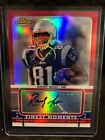 RANDY MOSS 2009 TOPPS FINEST Auto Refractor #2 5 (Most NFL TD's) Brand New 🔥🔥