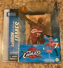 2004 McFARLANE NBA Series 7-LeBRON JAMES CLEVELAND CAVALIERS 2nd EDITION-Red
