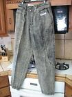 Rigolletto Italian acid or stone wash jeans extreme 1980s vintage baggy pants