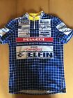 VINTAGE GIESSEGI PEUGEOT CYCLING JERSEY made in ITALY mens XL