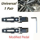 1Pair Rear Motorcycle Modified Anti Skid Widened Foot Rest Pedal Motorbike Parts