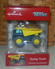 Hallmark 2018 Ornament Red Box Tonka Dump Truck