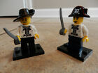 LEGO PIRATE Minifigures (Qty: 2) / COMPLETE with Weapons