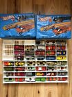Vintage Hot Wheels Matchbox lot with 2 Collectors Cases