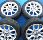 Four Genuine Mini Loop spoke 494 16 alloy wheels ref 563