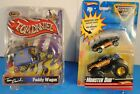 Rare Paddy Wagon Tom Daniels Show Rod/ 2008 Hot Wheels Monster Truck Duo