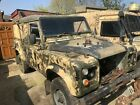 LARGER PHOTOS: MILITARY LAND ROVER DEFENDER 110 WINTER WADER PROJECT