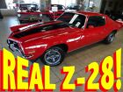 1973 Camaro 2dr Coupe Z28 1973 Chevrolet Camaro 2dr Coupe Z28 13791 Miles Red 350 Manual