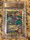 2011 Topps Chrome Mike Minor Superfractor Auto RC 1 1 BGS 9.5 Texas Rangers HOT!