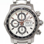 Auth EBEL 1911 Discovery Chrono 9750L62 / 63B60 White Dial Automatic kad_f-58501