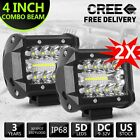 41220inch Cree Led Work Light Bar Spot Flood Combo Offroad Driving Lights