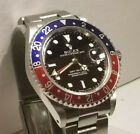 All original! Rolex GMT Master Red/Blue Pepsi 16700 with Box/Papers