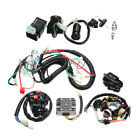 Wiring Harness Solenoid Coil Rectifier CDI Electrics Kit 125cc 150cc 250cc