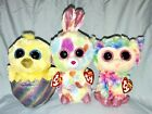 """Ty Beanie Boos 6"""" BLOOMY, DAFFODIL & MEGG (Walgreen's Exclusive) - Colors Vary"""