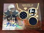 2013 Topps Triple Threads Purple #136 Manti Te'o Rookie Jersey Auto #'d 58 70