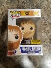 Funko Pop! WWE Daniel Bryan (Red Outfit) #07 Hot Topic Exclusive New W Protector