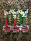 Vintage PEZ Christmas Candy Dispensers. Elf Santa And Penguin