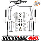RUBICON EXPRESS 35 SUPER FLEX SUSPENSION LIFT KIT TWIN TUBE Shocks 18+ JEEP JL