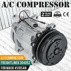 NEW Sanden SD508 AC COMPRESSOR AND CLUTCH for Jeep Cherokee CJ7 Wagoneer 84 90