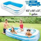 Small Inflatable Pool For Kids Toddler Child Family Garden Swimming Play Pools