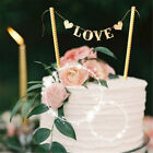 1Set Love Flag Wedding Cake Topper for Weddings Party Cake Decors Supplies JB