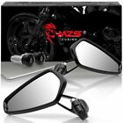Universal 7 8 Handle Bar End Rearview Side Mirrors for Motorcycle Honda Yamaha