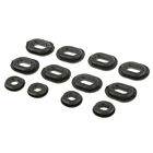 12x Rubber Grommet Fairing Washer Kit for Honda CB CL XL 100 CG125 CB125S CB125T