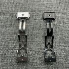 NEW Authentic Z ENITH Defy 20mm/22mm clasp deployant Leather Strap Buckle/10g
