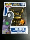 WORLD OF WARCRAFT*FUNKO POP*ILLIDAN #14 GOLD*ASIA EXCLUSIVE*NOT MINT