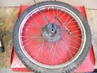 1983 HONDA XL200R FRONT WHEEL     #2072