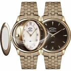 Rotary LB02974-25-41 Ladies ' Rose Gold Tone Revelation Wristwatch