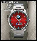 NEW BMW Logo BMW M Power Series Wheel elegan Logo MENS Sport Metal Watch