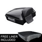 Chopped Tour Pak Pack Trunk +Backrest Fit For Harley Street Electra Glide 14 19