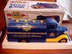 BLUE SUNOCO VEHICLE FUEL TRUCK BANK - 1993 LIMITED EDITION (JMT REPLICAS) MARX