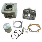 Cylinder Head Piston Ring Kit 40mm Fit 50cc Gas Motorized Bicycle Bike Quality+