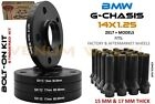 4 Pc 5x112 BMW 7 Series 740 750 Wheel Spacer Staggered Kit 15mm +17mm With Bolts