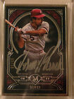 2017 MUSEUM COLLECTION JOHNNY BENCH AUTO # 1 15 REDS SSP SILVER INK AUTOGRAPH