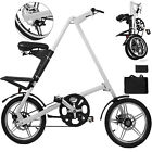 16 Folding Bike Poldable Bicycle Aluminum Alloy Bicycle Bikee Cycling Fork