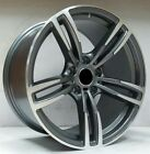 19 GUNMETAL M3 M4 M5 M6 STYLE WHEELS RIMS FITS BMW E60 5 SERIES RWD ONLY