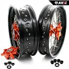 KKE 3.5/4.5 FIT KTM690 ENDURO R 08-19 SMC 07-11 SUPERMOTO CUSH DRIVE WHEELS SET
